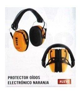 PROTECTOR OIDOS ELECTRONICO NARANJA
