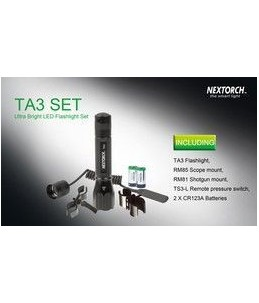 LINTERNA NEXTORCH TA3 SET