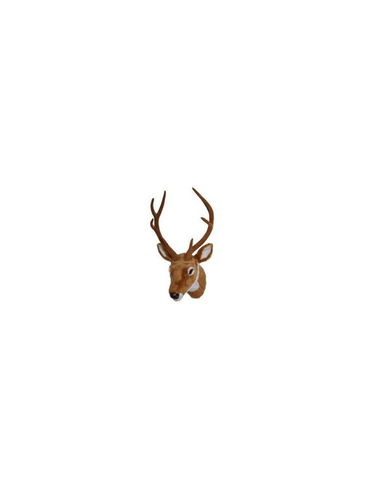 Comprar cabeza de ciervo de peluche al mejor precio for Cabeza de ciervo