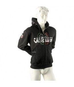 chaqueta castellani con capucha