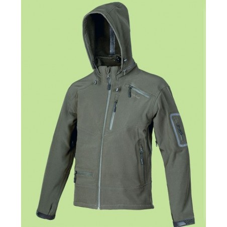 SOFT SHELL BENISPORT IMPERMEABLE TRI-LAMINADO ARTIO-MAN