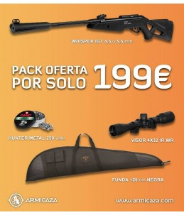 rifle de balines gamo whisper igt
