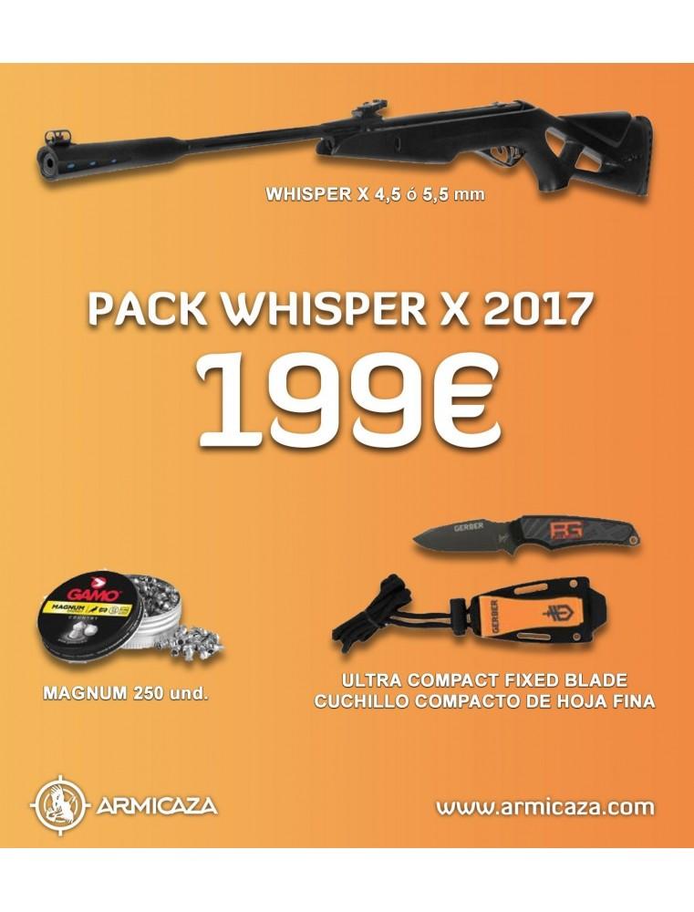 GAMO WHISPER X PACK 2017 CARABINAS