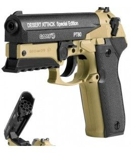 GAMO PT-80 DESERT ATTACK PISTOLA CO2