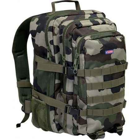MOCHILA MULTI COMPARTIMENTO TACTICA DE CAMUFLAJE PERCUSSION