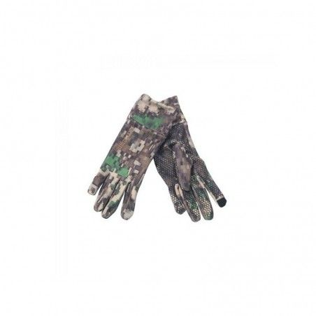 DEER HUNTER PREDATOR GLOVES W. SILICONE GRIP Col.: 80-IN-EQ Camouflage GUANTE DE CAZA