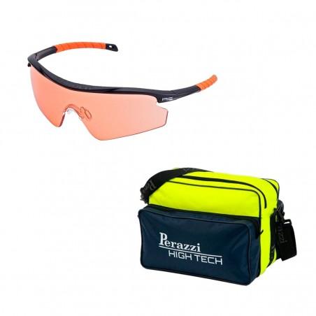 Pack San Valentín Kit Gafas Randolph + Bolsa Perazzi High Tech Amarilla