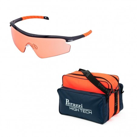 Pack San Valentín Kit Gafas Randolph + Bolsa Perazzi High Tech Naranja