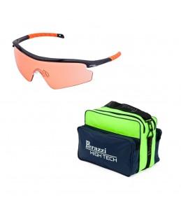 Pack San Valentín Kit Gafas Randolph + Bolsa Perazzi High Tech Verde