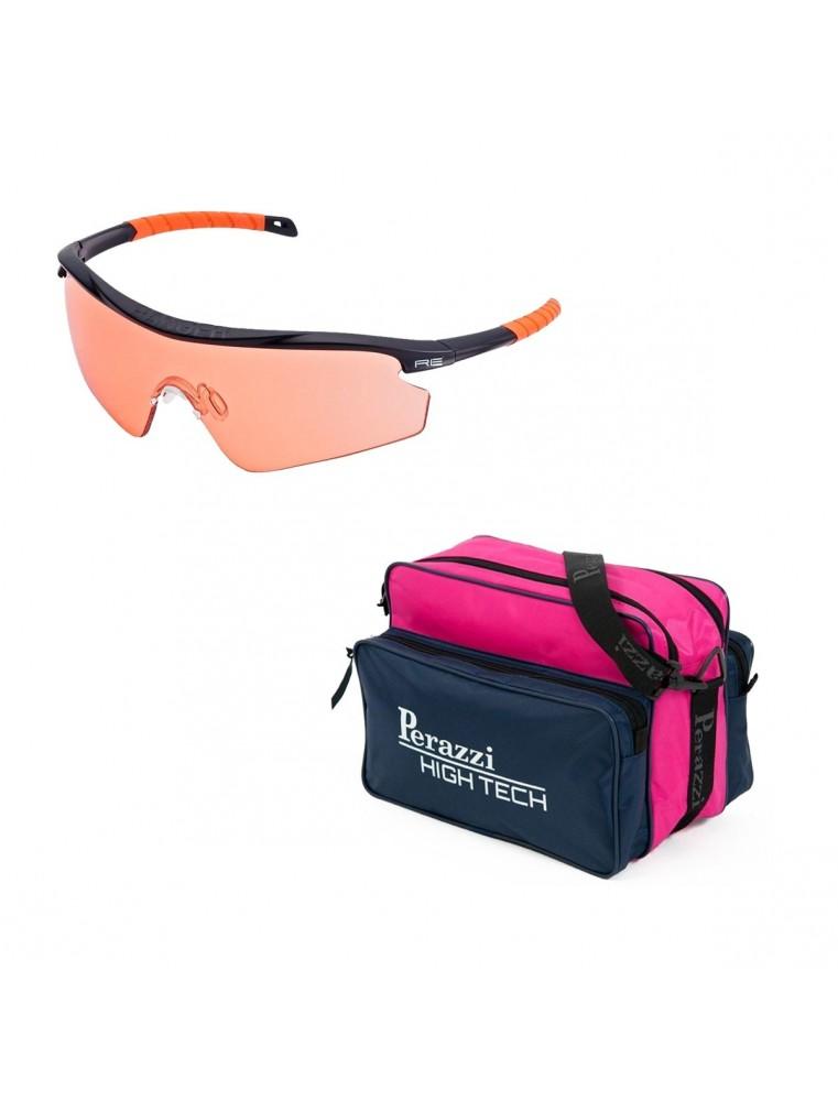 Pack San Valentín Kit Gafas Randolph + Bolsa Perazzi High Tech Fucsia