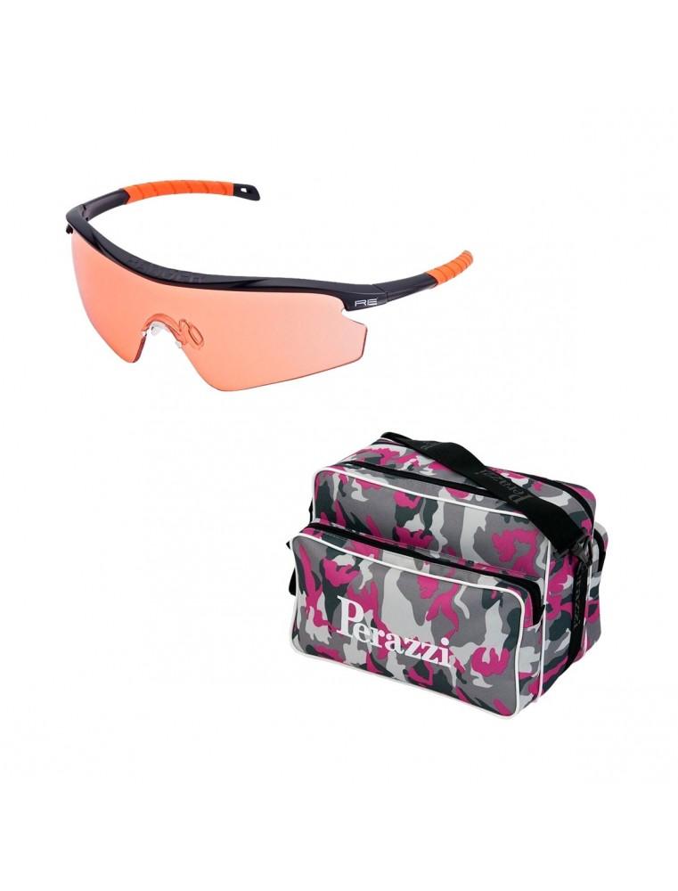 Pack San Valentín Kit Gafas Randolph + Bolsa Perazzi Camuflaje Rosa
