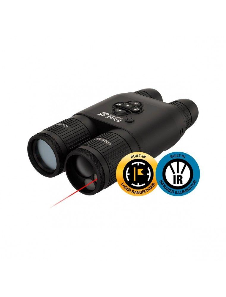 ATN BINOX 4K 4-16X Visión Nocturna y Láser Rangefinder