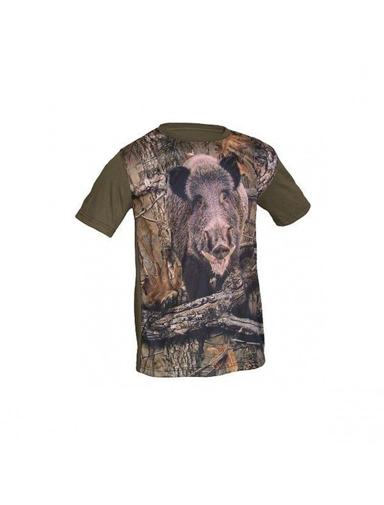Camiseta Benisport Jabali 3D Camuflaje