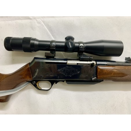 BROWNING BAR-II SAFARI RIFLE SEMI AUTOMATICO USADO DE CAZA
