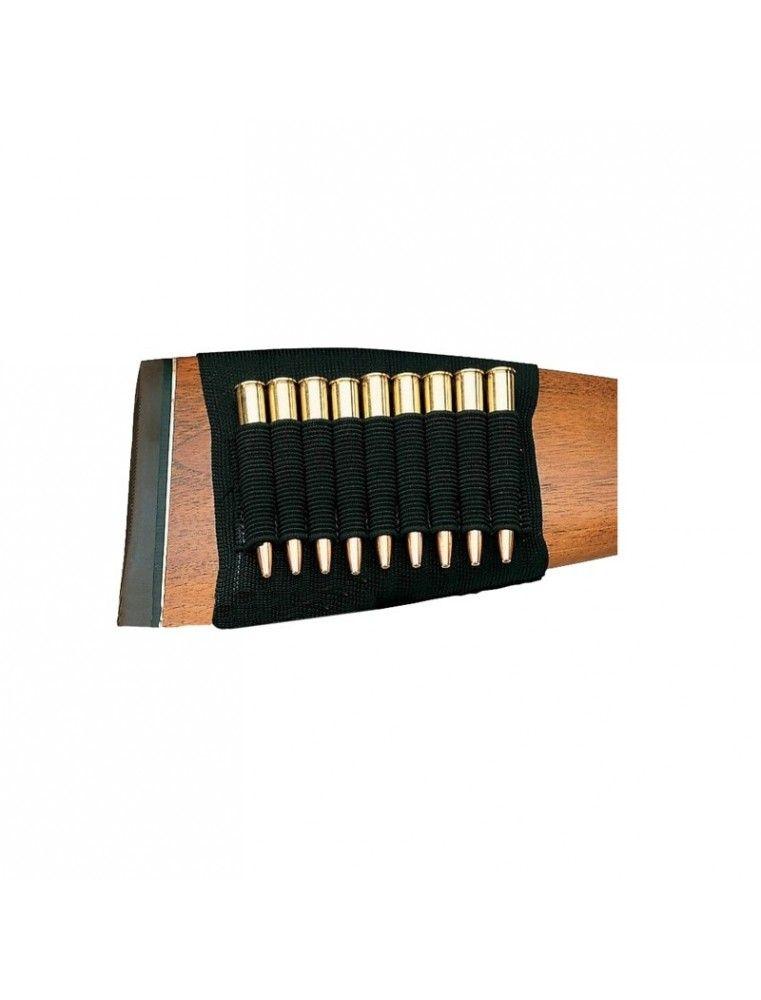 Huetter Canana 9 balas para culata material elastico negro