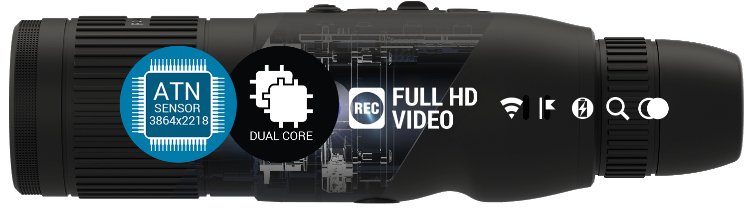 ULTRA HD SENSOR WITH ULTRA HD OPTICS